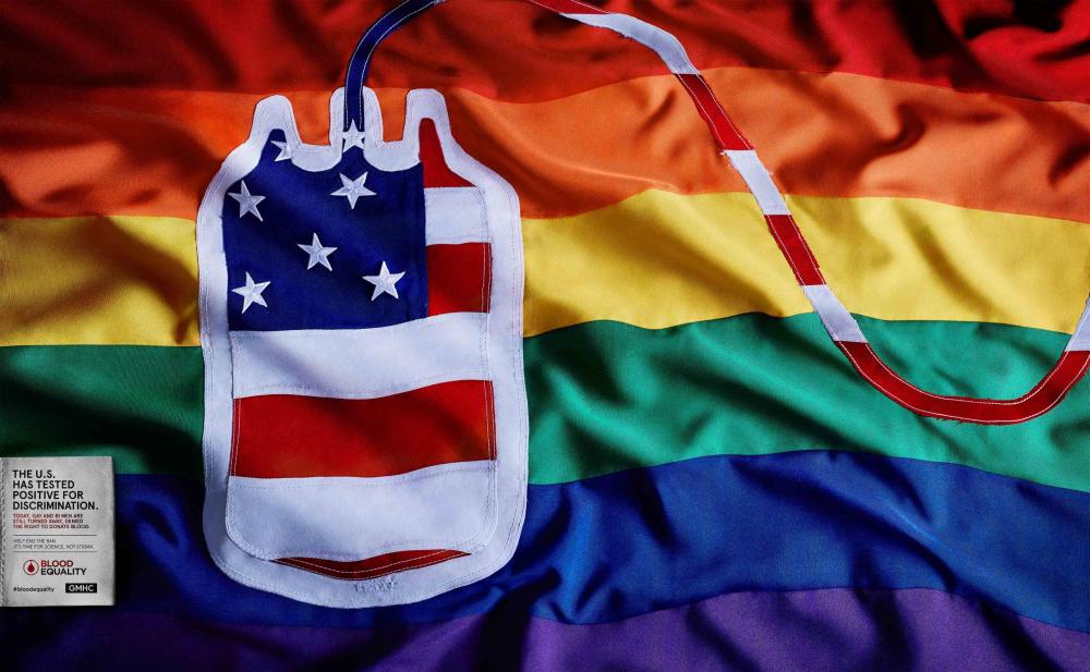 BOOD EQUALITY - USA flag