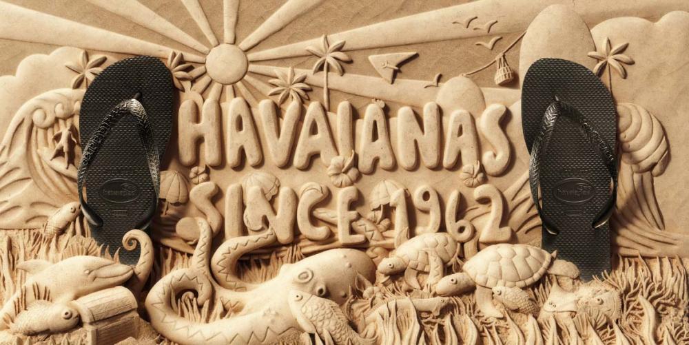 HAVAINAS - Sandália preta