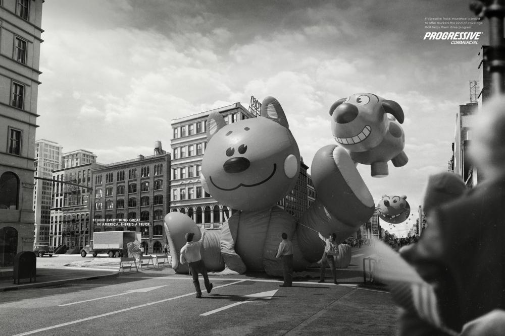 PROGRESSIVE - Inflatable dummy might