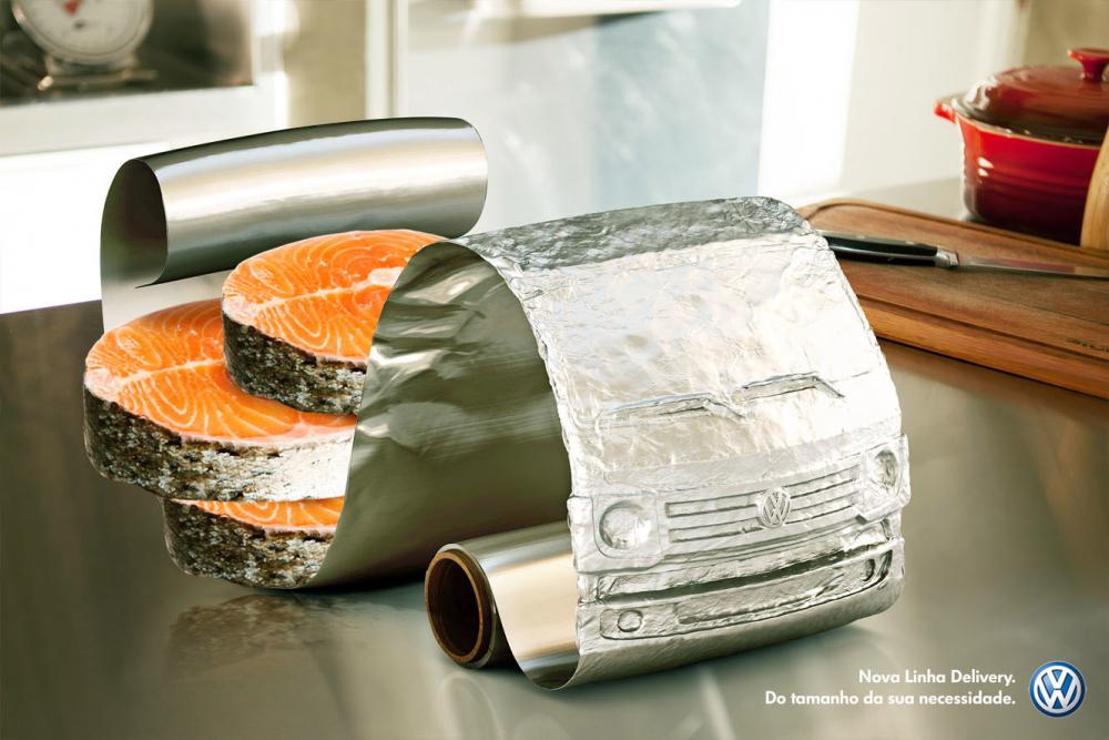VW - Caminhão alimentos